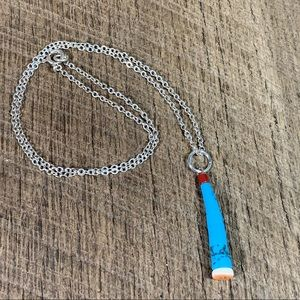 925 Sterling Silver Heishi Pendant Necklace